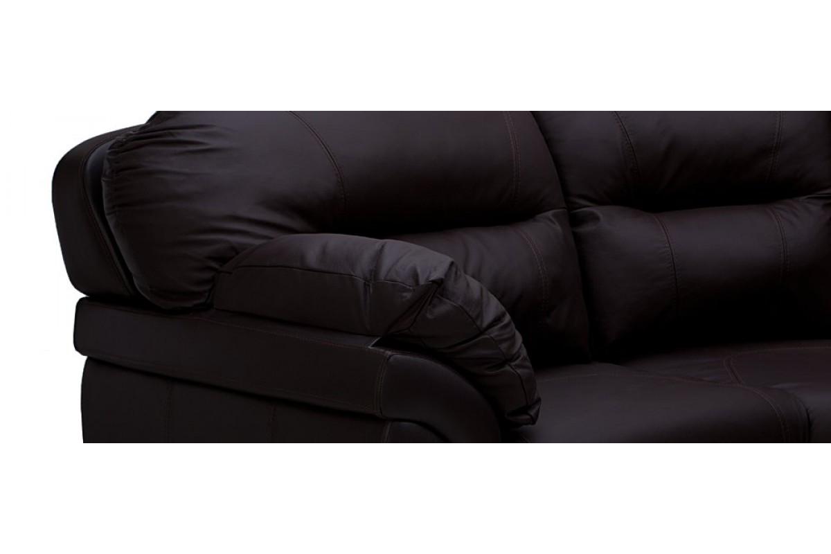 диван кожаный угловой бристоль