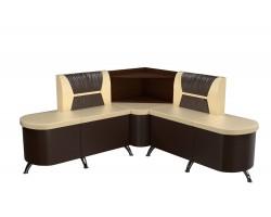 Кухонный угловой диван Лиза Левый фото