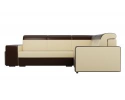 Угловой диван Мустанг с двумя пуфами Правый фото