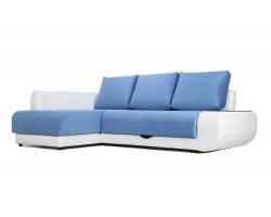 Угловой диван с независимым пружинным блоком Поло ПБ (Нью-Йорк) Левый фото