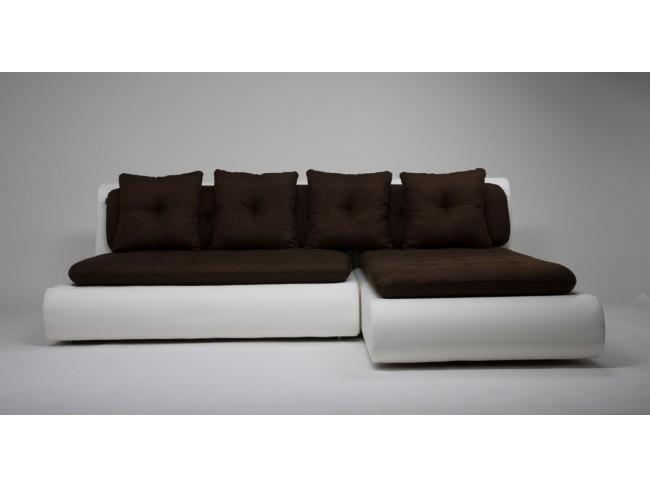 Диван угловой Скандинавия (Кормак) Textile Brown