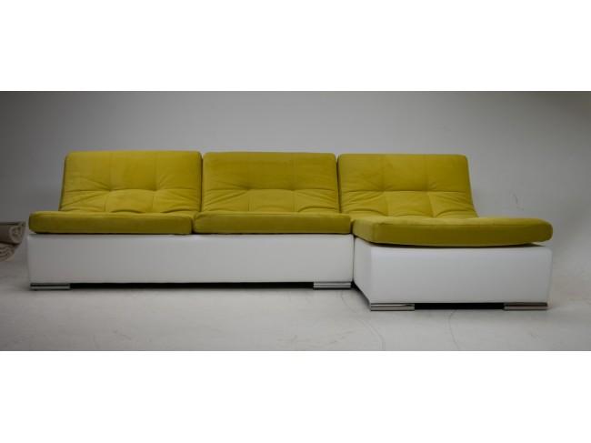Диван Монреаль-1 Velvet Yellow