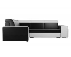 Угловой диван Мустанг с двумя пуфами Левый фото