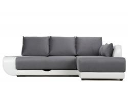 Угловой диван Поло Lux (Нью-Йорк) Правый фото