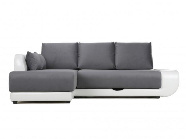 Угловой диван с независимым пружинным блоком ПолоLUXНПБ