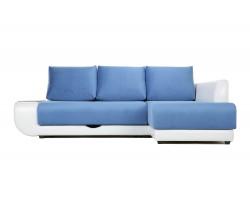 Угловой диван с независимым пружинным блоком ПолоLUXНПБ (Нью-Йорк) Правый фото