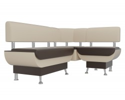 Кухонный угловой диван Альфа Правый фото