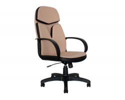 Кресло руководителя Office Lab comfort-2562 Эко кожа Слоновая кость фото