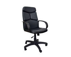 Кресло руководителя Office Lab comfort-2572 Эко кожа Черный фото