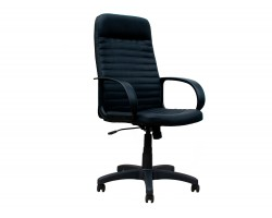 Кресло руководителя Office Lab standart-1601 Эко кожа Черный фото