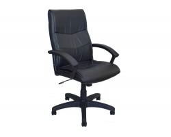 Офисное кресло Office Lab comfort-2052 Эко кожа черный фото