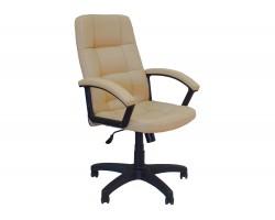 Кресло руководителя Office Lab comfort -2072 Слоновая кость фото