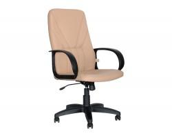 Офисное кресло Office Lab standart-1371 ЭК Эко кожа слоновая кость фото