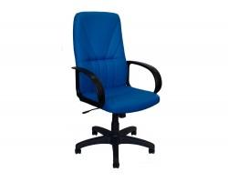 Офисное кресло Office Lab standart-1371 ЭК Эко кожа синяя фото