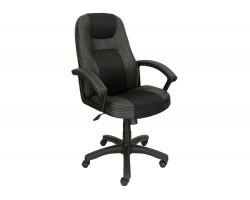 Кресло руководителя Office Lab comfort-2082 Черный/Черный фото