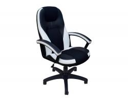 Кресло руководителя Office Lab comfort-2082 Черный/Белый фото